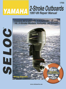 Seloc Yamaha 2-stroke outboards 1997-2009 repair manual