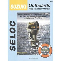 Seloc Suzuki Outboard Repair Manual 1988-03