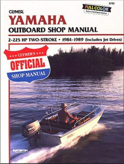 Clymer Yamaha Outboard Shop Manual 2-225HP two stroke b783