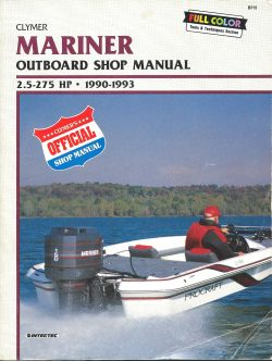 Clymer Mariner Outboard Shop Manual B715 free download