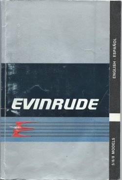Evinrude Owner Operations Manual 5/6/7HP models
