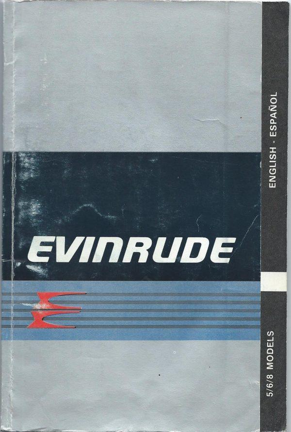 Evinrude Owner Operations Manual 5/6/7HP models