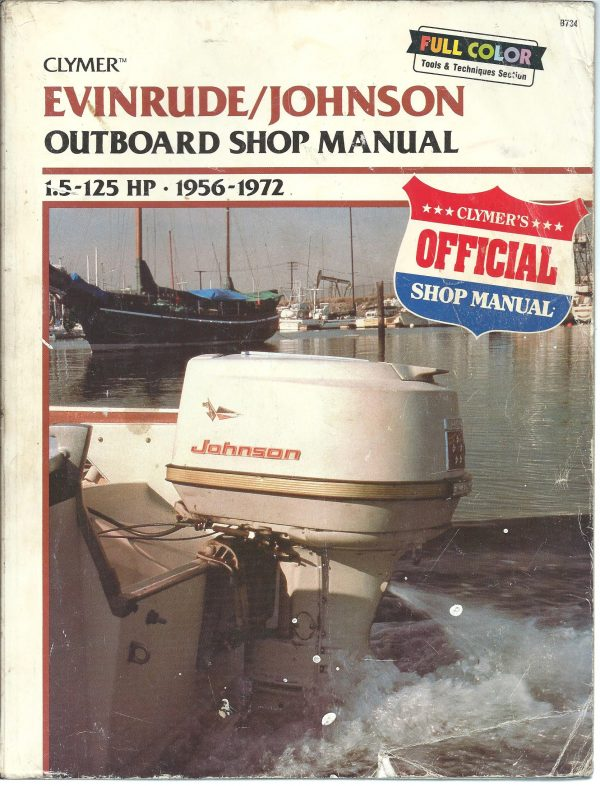 Johnson Evinrude Outboard Shop Manual 1_5HP - 125HP 1956 to 1972 free download