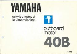 Yamaha Service Manual for Outboard Motor 40B 40BM 40BR 40BE