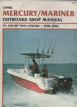 Clymer Mercury and Mariner Outboard Shop Manual 75Hp - 250HP 1998 - 2002 Free Download