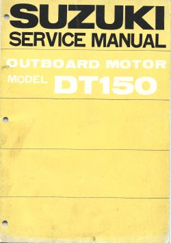 Suzuki Outboard Service Manual Model DT150