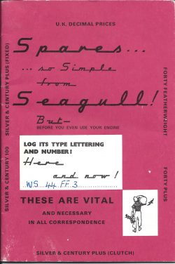 Spares so Simple Outboard Manual from Seagull