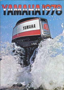 Yamaha Outboard Sales Brochure 1978.