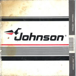 Johnson 4HP Outboard Operators Manual 1988